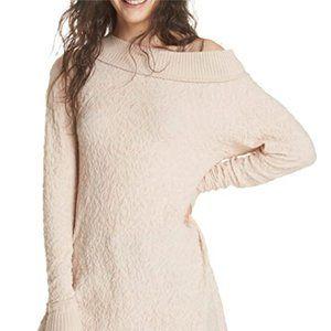 Women's waist round neck pullover shirt